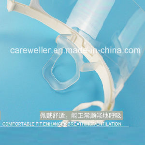 Transparent Anti-Fog Plastic Sanitary Mask (CW-CS503) pictures & photos