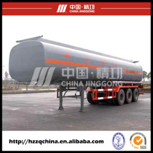 Chemical Liquid Tank Semi-Trailer, Fuel Tank Truck with High Quality for Sale pictures & photos