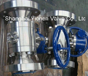 Duplex Steel Reduced Bore Ball Valve pictures & photos
