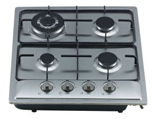 Build-in Gas Cooker Hob with Stainless Steel Top and Four Buners Sn-614 pictures & photos
