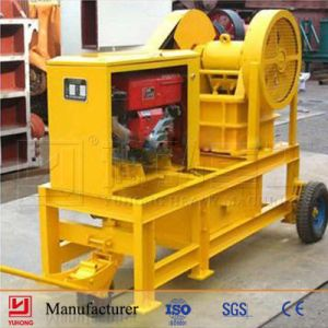Yuhong 250*400 Diesel Engine Jaw Crusher pictures & photos