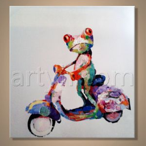 Colorful Animal Art Painting for Decor