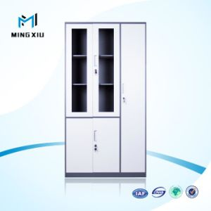 Chinese Furniture Supplier Glass Door Cole Steel Filing Cabinets / Steel Cabinet pictures & photos