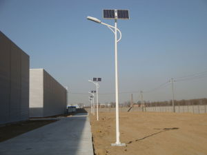 50W LED Solar Road Lights, 8 Metres Height pictures & photos