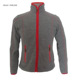 Micro Fleece Bonded Fleece Casual Jacket Outdoors Sports Wear pictures & photos