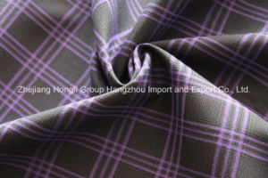 Yarn Dyed Fabric, Plaid Fabric for Garment, 68% Polyester 29%Rayon 3%Spandex, 210g/Sm pictures & photos