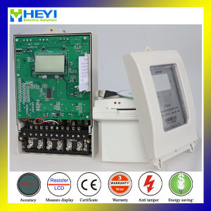 Anti Tamper Three Phase Digital Static Prepay Kwh Meter pictures & photos