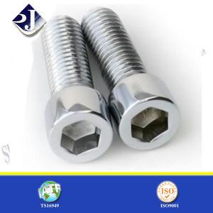 Zinc-Plated Steel Hex Cap Screw pictures & photos