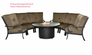Outdoor Patio Aluminum Furniture Propan and Nature Gas Fire Pit pictures & photos