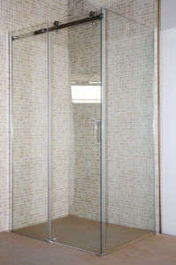 Corner Bathroom Glass Simple Sliding Bath Shower Cabin for Sale pictures & photos