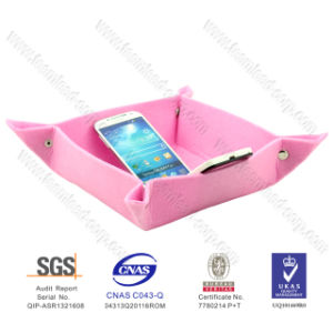 Cute Colorful Felt Tray for Party Decoration and Candy pictures & photos