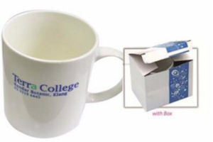 Custom Printing White Sublimation Promotional Ceramic Mug pictures & photos