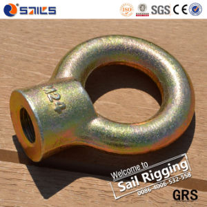 Carbon Steel Drop Forged Galvanized Eye Nut JIS1169 pictures & photos