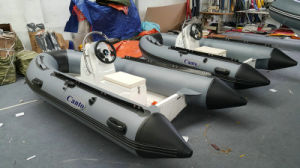 2.7m Rigid Inflatable Boat Rib270 Rubber Boat Hypalon with CE Fishing Boat pictures & photos