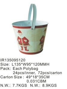 Wholesale Metal Bucket Tin Box with Handle pictures & photos