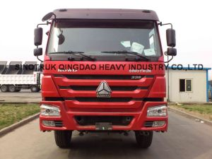 Qingzhuan HOWO 25t 6X4 Tipper Truck pictures & photos