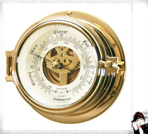 Barograph Brass Open Type Case Dial 120mm pictures & photos