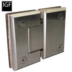 Quality Brass or Stainless Steel Glass Shower Hinge (SH-402-180S) pictures & photos