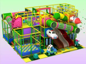 2014 Newest Children Indoor Playground for Sale (YQL-0110064)