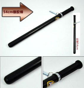 Police Self-Defense Stick, Batons, Rubber Sticks pictures & photos