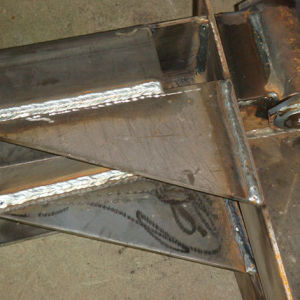 Customized Heavy Sheet Metal Fabrication Steel Wedling Fabrications pictures & photos