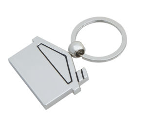 House Shape Keychain, Custom Key Ring (GZHY-KC-022) pictures & photos