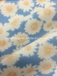 Interlock Polyester Rayon Spandex Fashion Printed Knitting Fabric pictures & photos