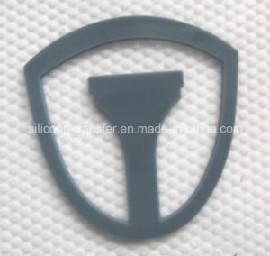 Shrink-Proof 3D Silicon Transfer Label for Clothing