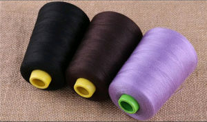 Cheap 100% Spun Polyester Sewing Thread with Different Colors pictures & photos