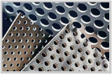 Powder Coating Galvanized Perforated Metal Mesh Components