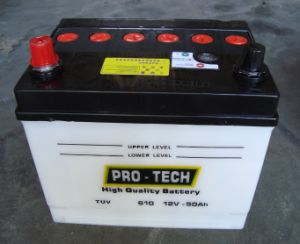 Sabas Model 610 Dry Charged Car Battery pictures & photos