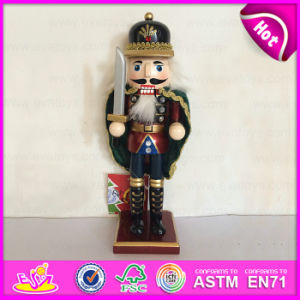2015 Newest Kids Toy Wooden Christmas Toy, Popular Wooden Children Toy Christmas, Wooden Christmas Soldier Nutcracker Toy W02A064 pictures & photos
