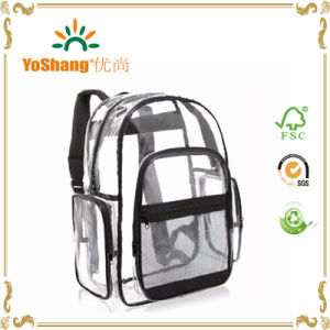 Custom Transparent Clear PVC Backpack pictures & photos