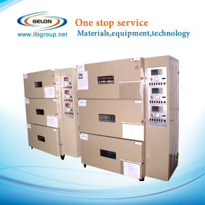 Three Layers Automatic Vacuum Drying Oven for Battery Making Machine (GN-VO-3) pictures & photos