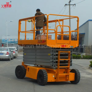 10m Lifting Equipment/Self-Propelled Electric Scissor Lift pictures & photos