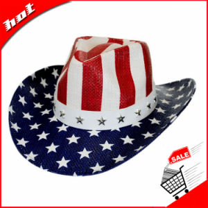 American Flag Hat Cowboy Hat Paper Hat Straw Hat pictures & photos
