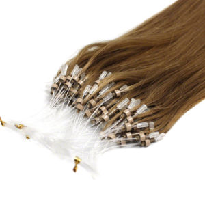 European Virgin Remy Full Cuticle Micro Loop Hair Extension pictures & photos