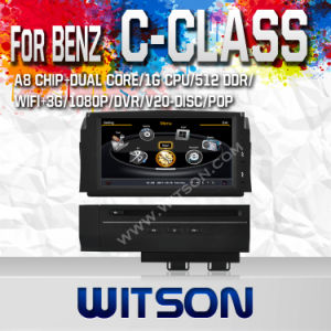 Car DVD Player for Mercedes-Benz C Class with A8 Chipset S100 pictures & photos