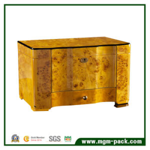 High-End Cedar with Tray Drawer Wooden Storage Cigar Box pictures & photos