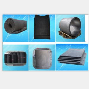 Pan Based Flexible 3mm to 10mm Graphite Felt pictures & photos