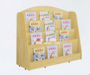 Kid′s Wardrobe, Bookshelf, Storage Unit, Daycare Furniter (SF-10WB) pictures & photos