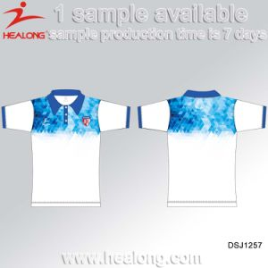 Healong Sportswear Personalized Sublimation Custom Men′s Polo T Shirt pictures & photos