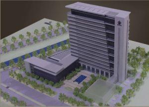 Miniature Architectural Model Builder_Commercial Model (JW-204) pictures & photos
