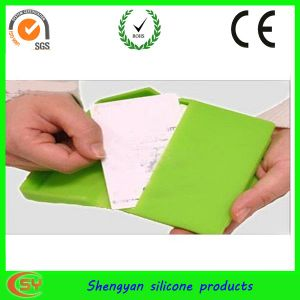 Eco-Friendly Silicone Business Card Holder (SY-MP-102)