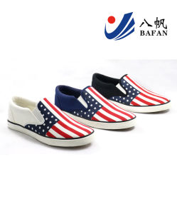 New Arrival Men′s Fashion Canvas Flat Casual Shoes (BFM0395) pictures & photos