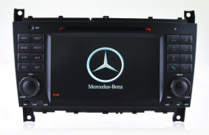 Hualingan GPS Vehicle Sysytem DVD Player for Benz C W203 Clk W209 DVD Navigation pictures & photos