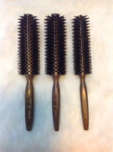 Professional Hairdresser Creative Rolling Ceramic Hair Brush (F016) pictures & photos