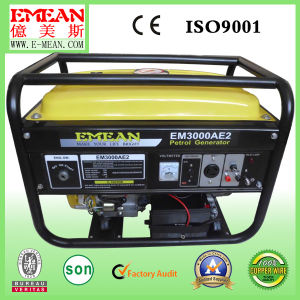 Stc Soundproof Portable Single Power Generator Gasoline Generator pictures & photos