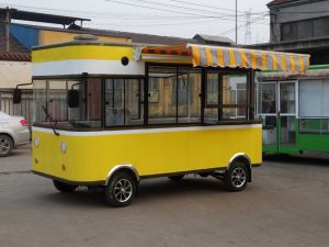 Mobile Kiosk/Moving Restaurant Car/Dining Car/Food Car for Show pictures & photos