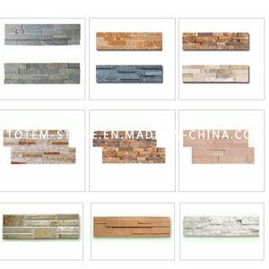 Quartzite Wall Cladding, Natural Culture Art Stone, Ledgestone pictures & photos
